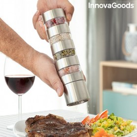 4-in-1 Spice Grinder Millmix InnovaGoods