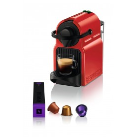 Krups Inissia XN1005 Ruby Red Pod coffee machine 0.7 L