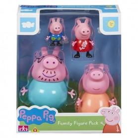 Peppa Pig Family Pack (4 Pcs)
