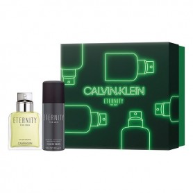 Men's Perfume Set Eternity Calvin Klein EDT (2 pcs)