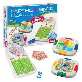 Board game 3 in 1 Juinsa