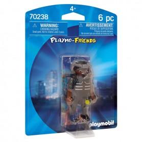 Action figure Special Forces Agent Playmo-friends Playmobil 70238 (6 pcs)